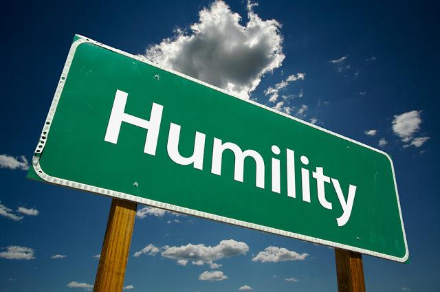 Humility Road Sign 1