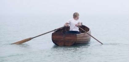 Man and Row Boat 1
