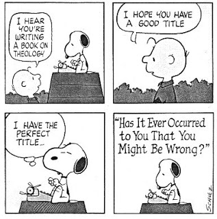Peanuts Cartoon 1