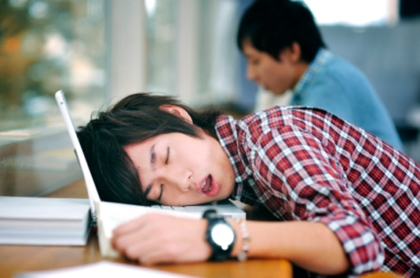 Sleeping Student 1