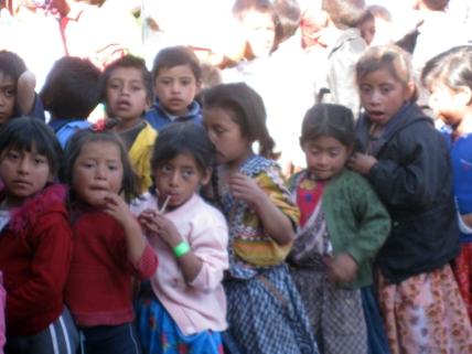 The Children Line Up