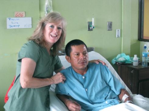 Domingo is Healed