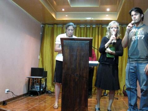 Dr. Karla Giving Testimony