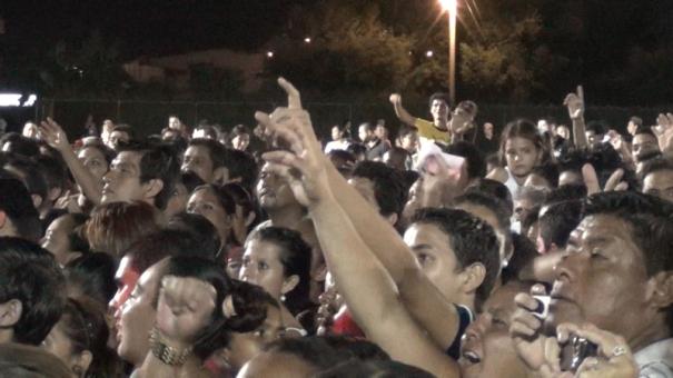 The Fiesta Crowd