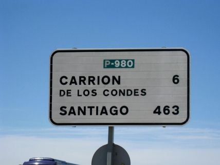 Carrion de los Condes Sign