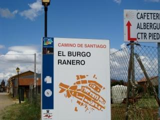 El Burgo Ranero Sign