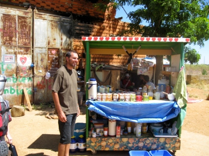 Vendor of Health Drinks
