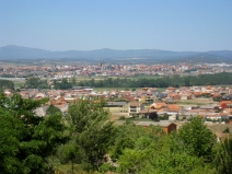 Astorga in the Distance
