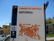 Astorga Signpost