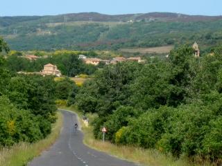 Coming to Rabanal del Camino
