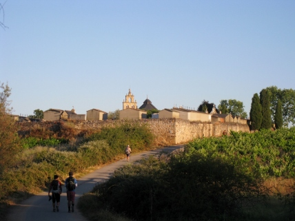 Leaving Ponferrada