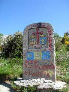Entering Galicia Region