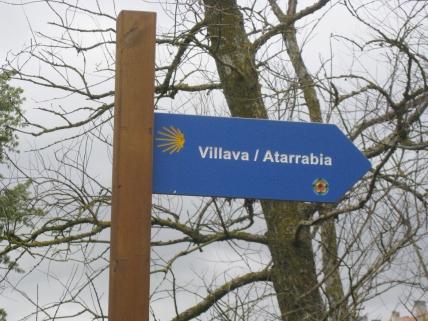 Villava Signpost