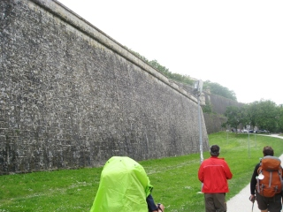The Fortress Walls of Pamplona