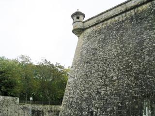Te Fortress Walls of Pamplona