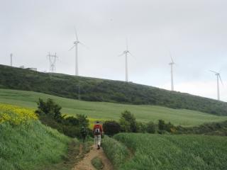 Wind Turbines on the Ridge