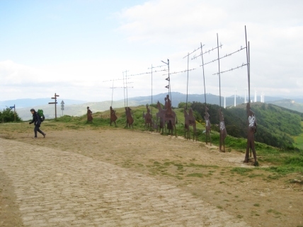 The Iron Pilgrim Sculptures