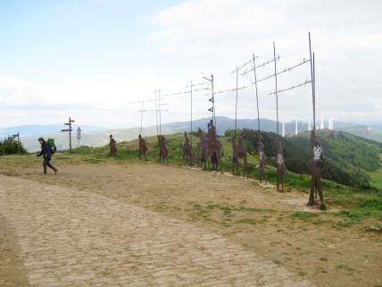 The Iron Pilgrim Sculptures