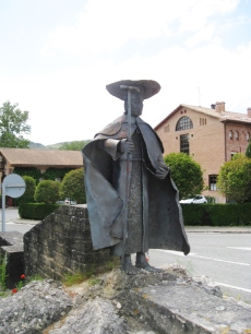 Pilgrim Sculpture