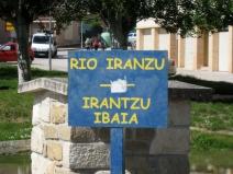 River Iranzu At Villatuerta