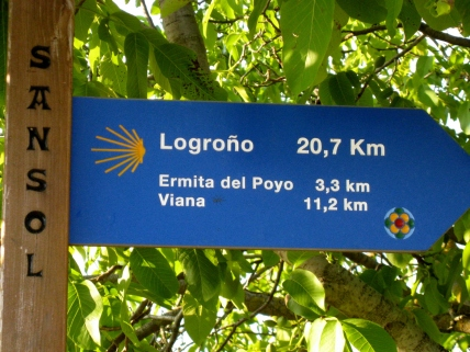 Sign Post for Logrono