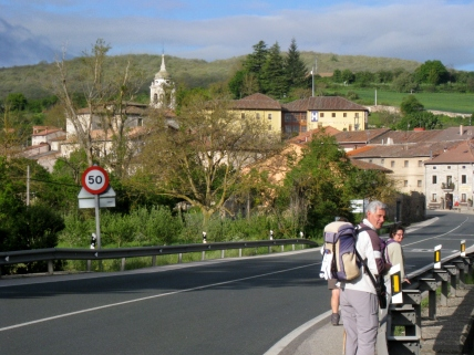 Coming into Villafranca