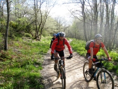 Bikers on the Camino