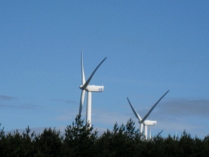 Wind Turbines on the Ridge