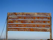A Pilgrim's Vista