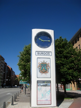 Sign Post for Burgos