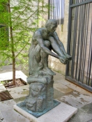 Even Sculptures Get Blisters