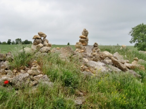 Pilgrim Rock Sculptures