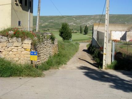 Leaving Castrojeriz