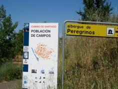 Poblacion de Campos Sign