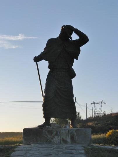 Pilgrim Monument Silhouette