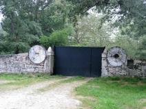 Gates to an Estate House