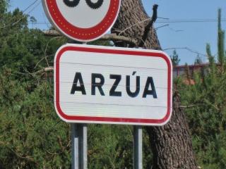 Arzua Signpost
