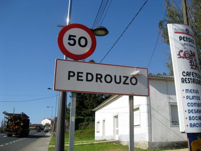 Pedrouso Signpost