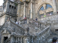 Front Steps pf the Cathedral