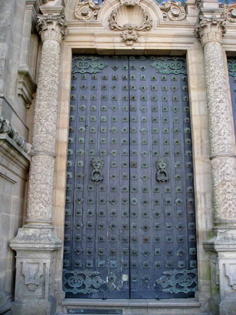 Pair of Cathedral Doors