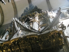 The Organ Pipes - Built between 1705 and 1713, by Miguel de Romay and Antonio Afonsin.
