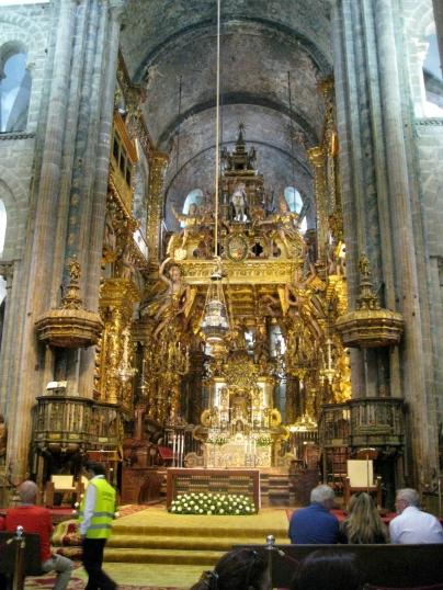 The Altar and Baroque Facade or Baldachin