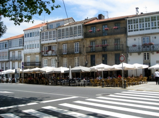 Restaurants on the Rua de Pombal