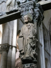 St. James - Central Column of the Portico de la Gloria